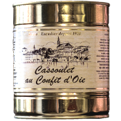 Cassoulet au confit d'Oie 840g   (2 parts)